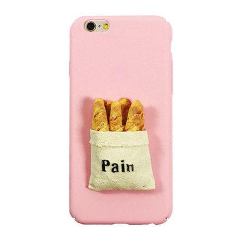 BREAD IPHONE CASE (I6 I6+ I7 I7+)