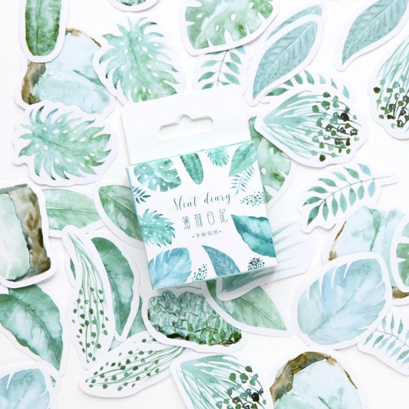 PLANTS STICKERS SET (45PC)