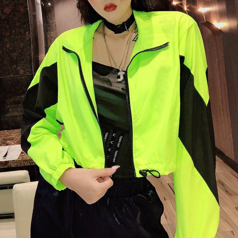NEON PATCHWORK JACKET