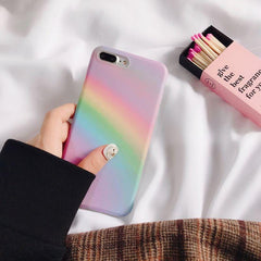 RAINBOW PHONE CASE (I6 I6+ I7 I7+ I8 I8+ IX)