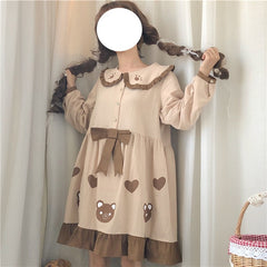 BOW BEAR DRESS