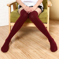 SOLID COLOR STOCKING