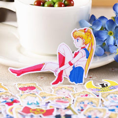 SAILOR MOON ASSORTED STICKERS (36pcs)
