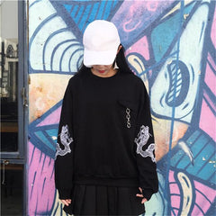 DRAGON EMBROIDERY LONG SLEEVE