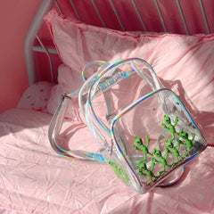 ALIEN TRANSPARENT BACKPACK