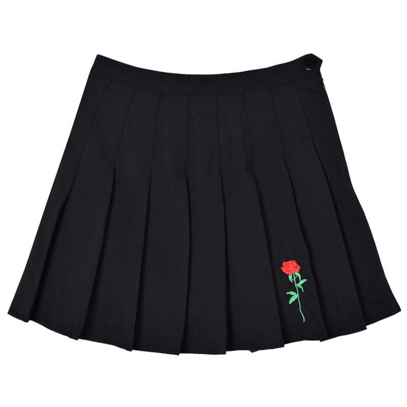 ROSE PLEATED SKIRT