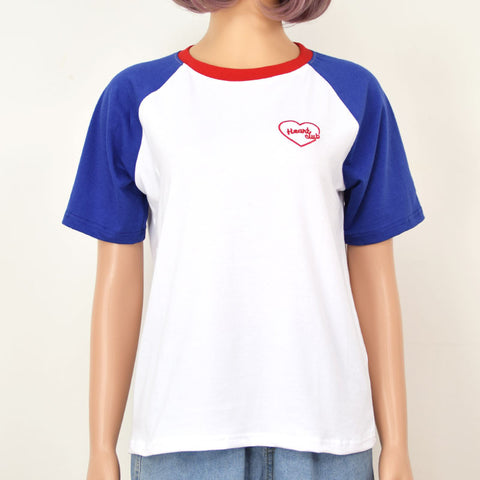 BLUE HEART CLUB TOP