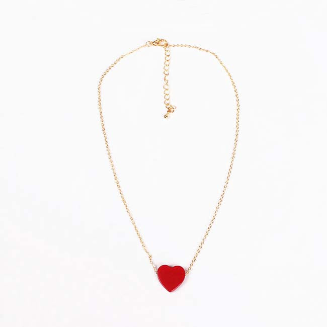 LOVE HEART CHOKER