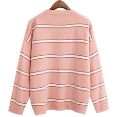 P&B STRIPED KNITTED