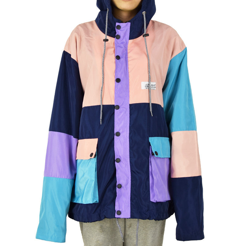 FALL COLOR BLOCK JACKET