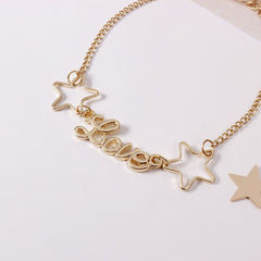 LOVE & STARRY MOON BRACELET (2 PCS)