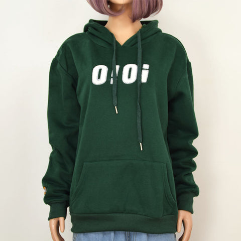 GREEN OI HOODIES