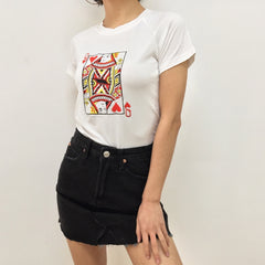 QUEEN OF HEARTS CROP TOP