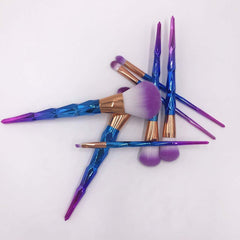 UNICORN COLORFUL MAKEUP BRUSHES