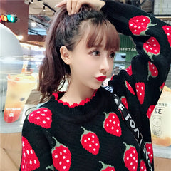 STRAWBERRY KNITTED