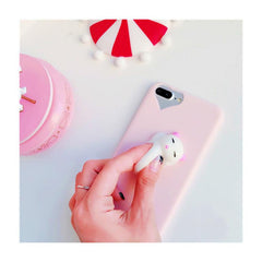 PINK SQUISHY CAT CASE (I6 I6+ I7 I7+ I8 I8+)