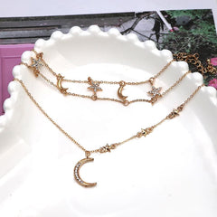 SUN&MOON CHOKER NECKLACE