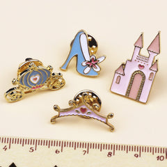 CINDERELLA PINS (SET/4PCS)
