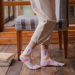 STRAWBERRY BREAKFAST SOCKS (2 pairs)