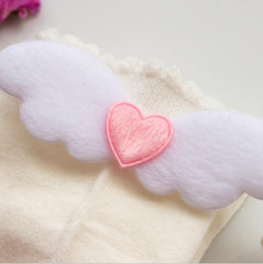 HEART ANGEL WINGS SOCKS