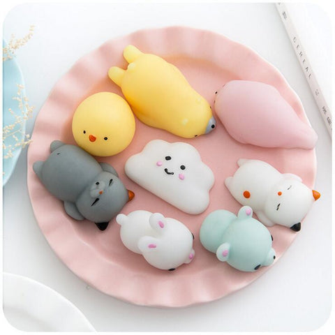 ANIMAL SQUISHYS (set/8pcs)