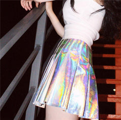 HOLOGRAPHIC SKIRT