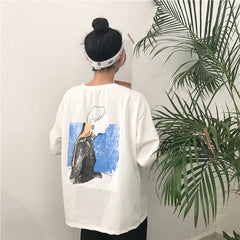 ABSTRACT WOMAN SWEATER