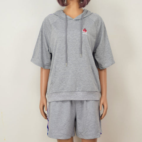 GRAY TRACKSUIT SET