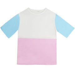 BLOCK COLOR TEE
