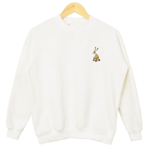 WHITE RABBIT SWEATER