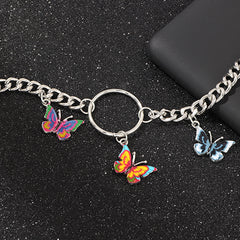 BUTTERFLY RING CHOKER