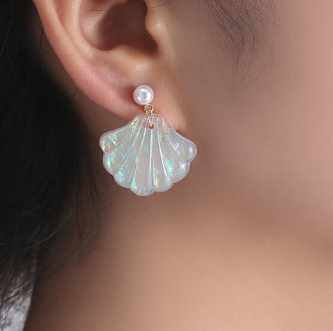 MERMAID EARRINGS (pair)
