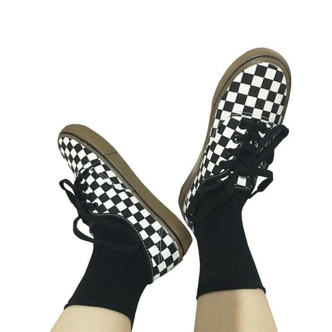 CHECKERBOARD SHOES (4.5-12)