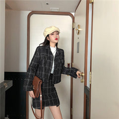 CHIC PLAID SET