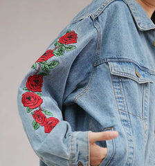 ROSE ON MY SLEEVE JACKET