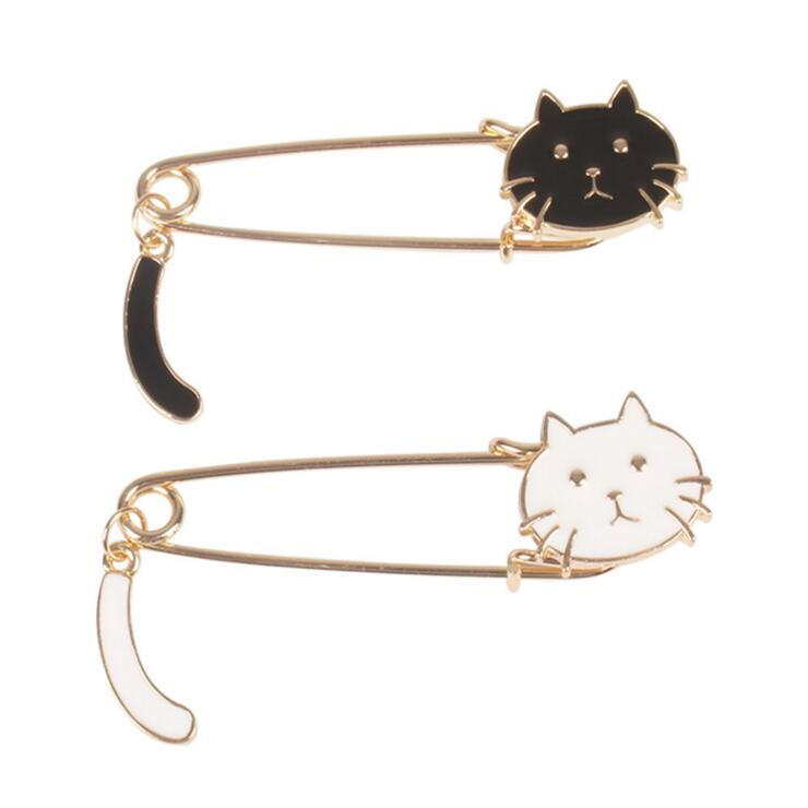 CAT TAIL PINS (SET/2PCS)