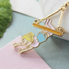 LOVERS SWING EARRINGS