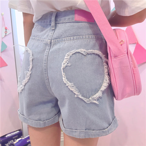 HEART OUTLINE SHORTS