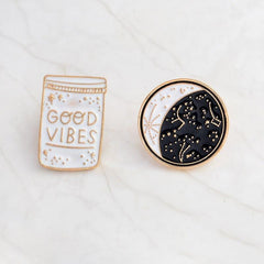 GOOD VIBES PINS (SET/2PCS)