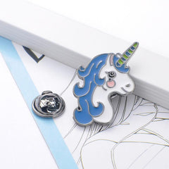 CARTOON UNICORN PINS (SET/6PCS)