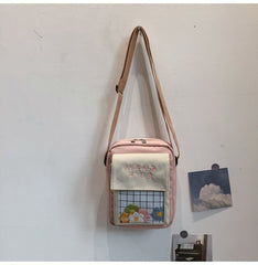MENG HUO FLOWER SHOULDER BAG