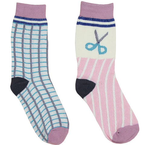 GRID SCISSOR SOCKS