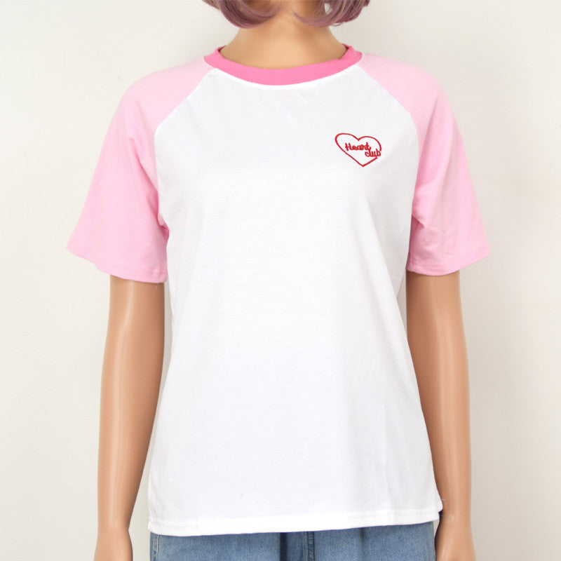 PINK HEART CLUB TOP