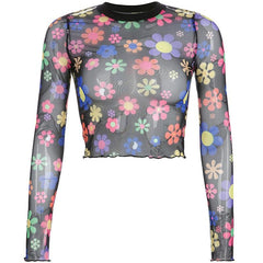 FLOWER CHILD MESH TOP