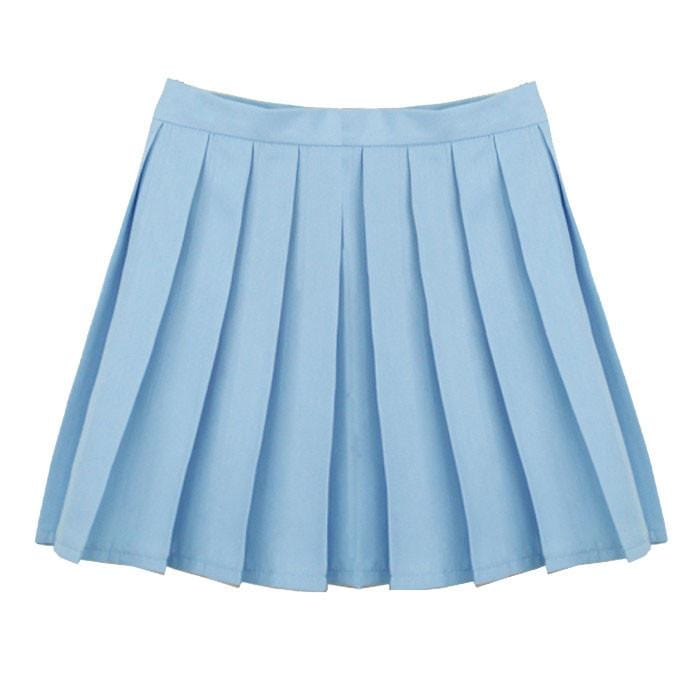 LIGHT BLUE TENNIS SKIRT