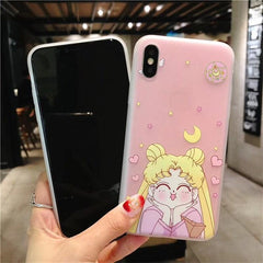 SAILOR MOON ANIME SOFT CASE (I6 I6+ I7 I7+ I8 I8+ IX)