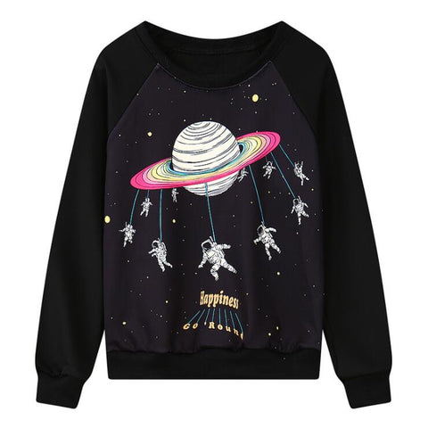 HARAJUKU PLANET SWEATSHIRT