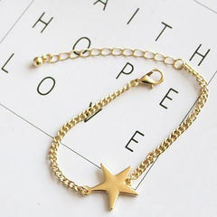 MOON FACE & STAR BRACELETS