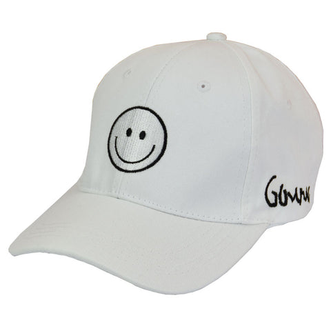WHITE SMILE HAT