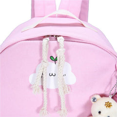 CUTE CLOUDY BACKPACK (set)